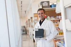 Dr.Cirillo in lab