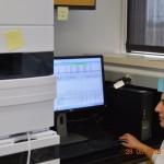 Meenu running a HPLC